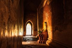 myanmar archeologiczna bagan strefa fotografia royalty free