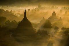 myanmar archeologiczna bagan strefa zdjęcia royalty free
