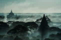 myanmar archeologiczna bagan strefa zdjęcie stock