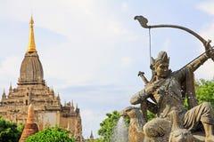 myanmar archeologiczna bagan strefa Zdjęcie Royalty Free