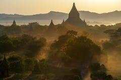 myanmar bagan świątynie Obraz Royalty Free