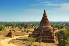 myanmar bagan świątynie Zdjęcie Stock