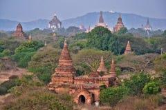 Myanmar Bagan royaltyfri foto