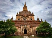 Myanmar Bagan Arkivbilder