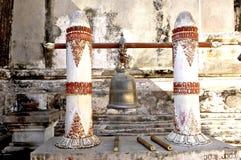 Myanmar, Bagan: bell in a pagoda Stock Image