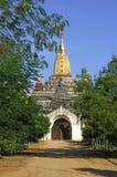 Myanmar, Bagan: Gawdawpalin Tempel Stockfotos