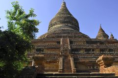 Myanmar, Bagan: mingalazedi pagoda Royalty Free Stock Photo