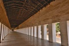Myanmar Bagan Nyaung-U korridor arkivfoto