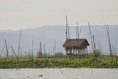 Myanmar Bagan Nyaung-U wstępu opłaty kontuar obraz royalty free