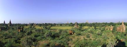 Myanmar, Bagan: panorama Stock Image
