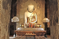 Myanmar, Bagan: Statue in a pagoda Royalty Free Stock Photography