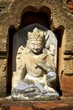 Myanmar, Bagan: Statue in a pagoda Royalty Free Stock Photos