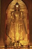 Myanmar, Bagan: Statue in a pagoda Stock Images