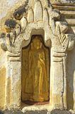 Myanmar, Bagan: Statue in a pagoda Stock Image