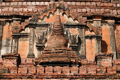 Myanmar, Bagan, Sulamani Pahto temple. Bagan, Sulamani Pahto - is one of Bagan's most attractive. This temple, known as the Crowning Jewel, was constructed Royalty Free Stock Photo