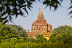 Myanmar bagan tamples lekki birma Fotografia Stock