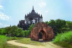 Myanmar bagan tamples lekki birma Obraz Royalty Free