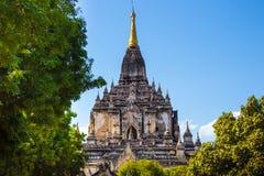 Myanmar bagan tamples lekki birma Obrazy Royalty Free