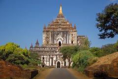 Myanmar bagan tamples light birma. Travel Royalty Free Stock Photo