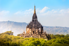 Myanmar bagan tamples light birma. Travel Stock Photography