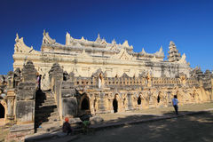 Myanmar Bagan temple Royalty Free Stock Image