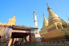 Myanmar Bagan temple Royalty Free Stock Photography