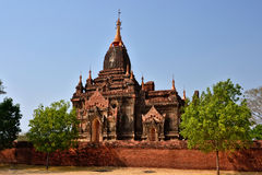 Myanmar Bagan Temple Stupa. Travel through historical places in Myanmar / Birma stock photos