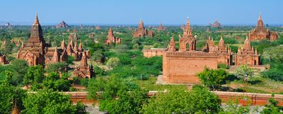 Myanmar: Bagan temples Royalty Free Stock Photos