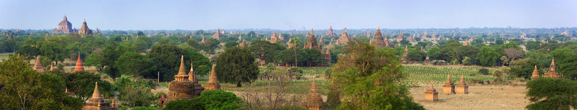 Myanmar - Bagan Royalty Free Stock Photos