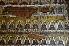 Myanmar Bagan TempleStupa Arkivfoton