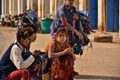 Myanmar Bagan TempleStupa. Travel through historical places in Myanmar / Birma royalty free stock image