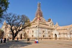 Myanmar Bagan TempleStupa. Travel through historical places in Myanmar / Birma royalty free stock photo