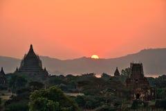 Myanmar Bagan TempleStupa. Travel through historical places in Myanmar / Birma stock images