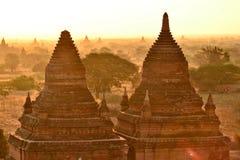 Myanmar Bagan TempleStupa. Travel through historical places in Myanmar / Birma royalty free stock photos