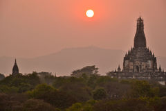Myanmar Bago Pagoda Temple. Travel through historical places in Myanmar / Birma Royalty Free Stock Photo