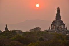 Myanmar Bago Pagoda Temple. Travel through historical places in Myanmar / Birma royalty free stock photo
