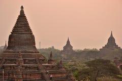Myanmar Bago pagodtempel royaltyfri bild