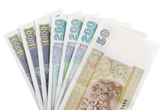 Myanmar banknotes Stock Images