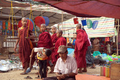 Myanmar, Birma, Pindaya Höhle Stockbilder