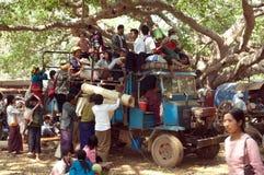 Myanmar, Birmania, caverna di Pindaya Fotografia Stock