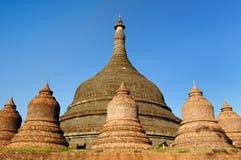 Myanmar (Birmania), Mrauk U - Ratanabon Paya Foto de archivo