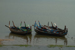 Myanmar boat Stock Photos