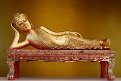 Myanmar Buddha. Stock Photos