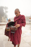 Myanmar Buddhist monks Royalty Free Stock Photography