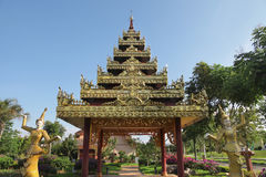 Myanmar building Royalty Free Stock Images