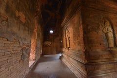 Nathlaung Kyaung Temple engraved wall. Myanmar Burma Bagan Nathlaung Kyaung Temple engraved wall stock photography