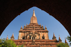 Myanmar (Burma), Bagan, Sulamani Pahto temple Royalty Free Stock Photos