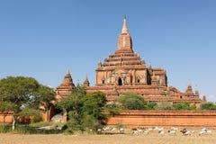 Myanmar (Burma), Bagan, Sulamani Pahto temple Royalty Free Stock Photos