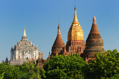 Myanmar (Burma), Bagan, Thatbyinny Pahto Temple Royalty Free Stock Photo