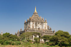 Myanmar (Burma), Bagan, Thatbyinny Pahto Temple Royalty Free Stock Images